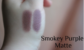 Тени Smokey Purple matte