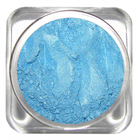 Тени Luster Blue mica